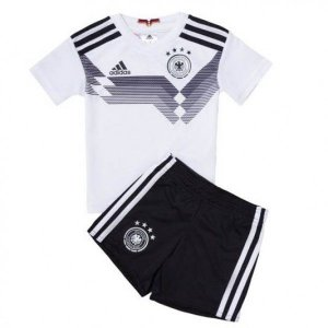 Kit Infantil Seleção Alemanha Home Copa do Mundo 2018 - PERSONALIZAÇÃO E FRETE GRÁTIS