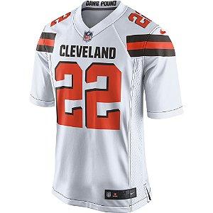 Camisa NFL Cleveland Browns Jabrill Futebol Americano #22 Peppers