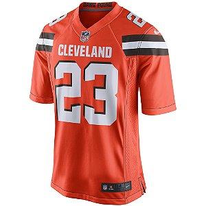 Camisa NFL Cleveland Browns Futebol Americano #23 Joe Haden