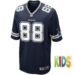 Camisa NFL Infantil Dallas Cowboys Futebol Americano #88 Dez Bryant