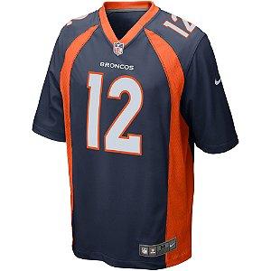 Camisa NFL Denver Broncos Futebol Americano #12 Paxton Lynch