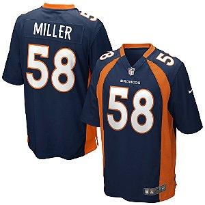Camisa  NFL Denver Broncos Futebol Americano #58 Von Miller
