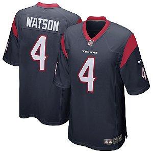Camisa NFL Houston Texans Futebol Americano #4 Watson