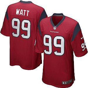 Camisa NFL Houston Texans Futebol Americano #99 JJ Watt