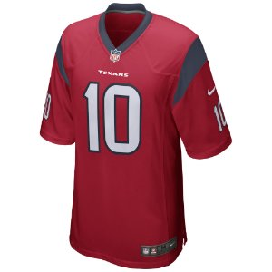 Camisa NFL Houston Texans Futebol Americano #10 DeAndre Hopkins