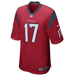 Camisa NFL Houston Texans Futebol Americano #17 Brock Osweiler