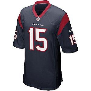 Camisa NFL Houston Texans Futebol Americano #15 Will Fuller