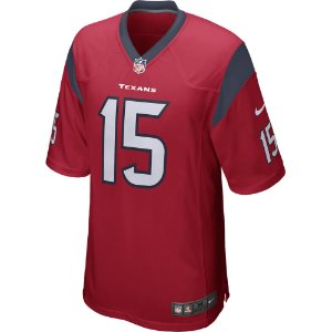 Camisa NFL Houston Texans Futebol Americano # 15 Will Fuller