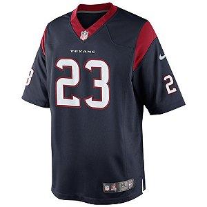 Camisa NFL Houston Texans Futebol Americano #23 Arian Foster