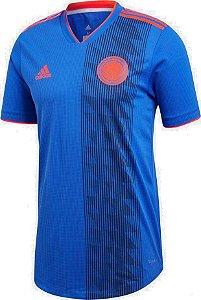 Camisa Seleção Colômbia Away Copa do Mundo 2018 - Personalização e Frete Grátis