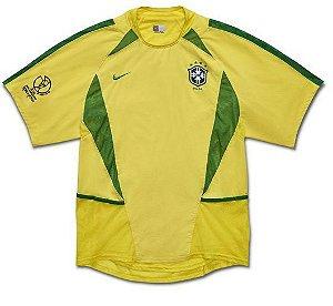 SELEÇÃO BRASIL RETRO COPA 2002