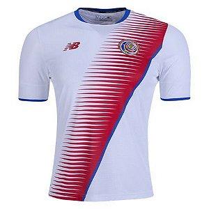 Camisa Seleção Costa Rica Away Copa do Mundo 2018 - Personalização e Frete Grátis