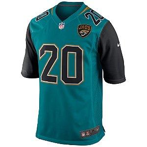 Camisa NFL Jacksonville Jaguars Futebol Americano #20 Jalen Ramsey