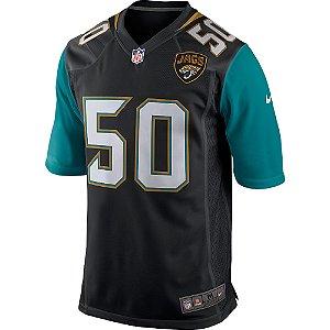 Camisa NFL Jacksonville Jaguars Futebol Americano #50 Telvin Smith