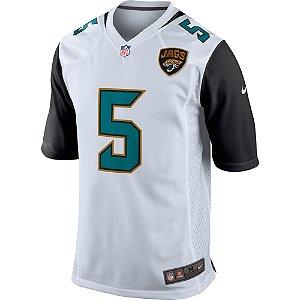 Camisa NFL Jacksonville Jaguars Futebol Americano #5 Blake Bortles