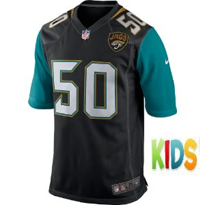 Camisa NFL Infantil  Jacksonville Jaguars Futebol Americano #50 Telvin Smith