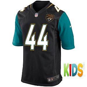Camisa NFL Infantil  Jacksonville Jaguars Futebol Americano #44 Myles Jack