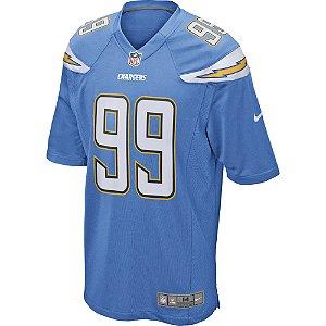 Camisa NFL Los Angeles Chargers Futebol Americano #99 Joey Bosa