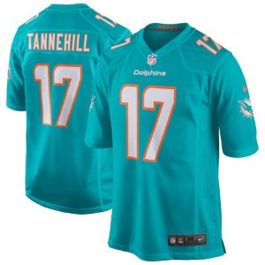 Camisa NFL Miami Dolphins Futebol Americano #17 Ryan Tannehill