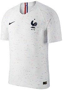 Camisa Seleção França Away Copa do Mundo 2018 - Personalização e Frete Grátis