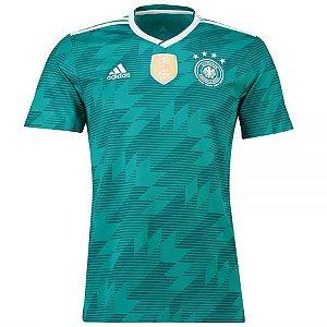 Camisa Seleção Alemanha Away Copa do Mundo 2018 - Personalização e Frete Grátis