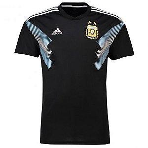 Camisa Seleção Argentina Away Copa do Mundo 2018 - Personalização e Frete Grátis