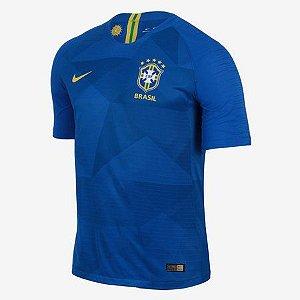 Camisa Seleção do Brasil Away Copa do Mundo 2018 - Personalização e Frete Grátis