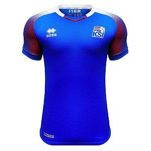 Camisa Seleção Islândia Home Copa do Mundo 2018 - Super Lançamento - Personalização e Frete Grátis