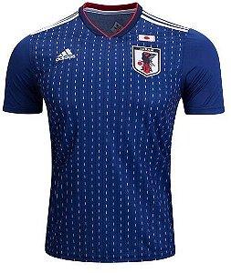 Camisa Seleção Japão Home Copa do Mundo 2018 - Super Lançamento - Personalização e Frete Grátis