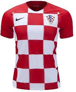 Camisa Seleção Croácia Home Copa do Mundo 2018 - Super Lançamento - Personalização e Frete Grátis