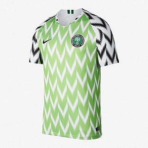 Camisa Nigéria Home 2018 Personalização e Frete Grátis