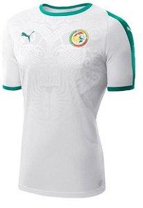 Camisa Seleção Senegal Away Copa do Mundo 2018 - Personalização e Frete Grátis