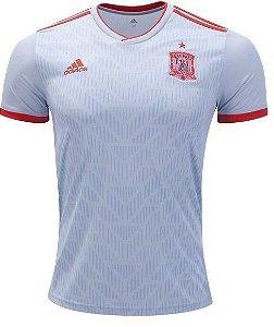 Camisa Seleção Espanha Away Copa do Mundo 2018 - Personalização e Frete Grátis
