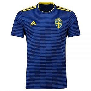 Camisa Seleção Suécia Away Copa do Mundo 2018 - Personalização e Frete Grátis