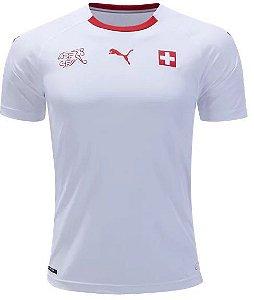 Camisa Seleção Suiça Away Copa do Mundo 2018 - Personalização e frete Grátis