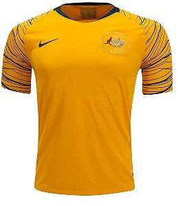 Camisa Seleção Austrália Home Copa do Mundo 2018 - Personalização e frete Grátis