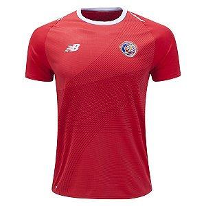 Camisa Seleção Costa Rica Home Copa do Mundo 2018 - Personalização e Frete Grátis