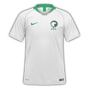 Camisa Seleção Arabia Saudita Home Copa do Mundo de 2018 - Personalização e Frete Grátis