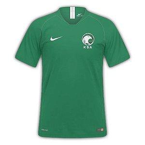 Camisa Seleção Arabia Saudita Home Copa do Mundo 2018 - Personalização e Frete Grátis