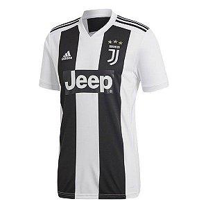 Camisa Juventus Home 2018/2019 Personalização e Frete Grátis