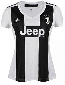 Camisa Feminina Juventus Home 2018/2019 Personalização e Frete Grátis