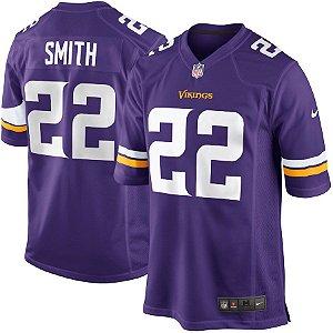 Camisa Minnesota Vikings Nfl Futebol Americano #22 Harrison Smith