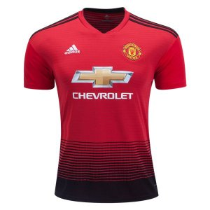 Camisa Manchester United Home HOME 2018 2019 - Personalização e Frete Grátis