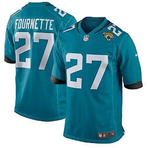 Camisa Jacksonville Jaguars Nfl Futebol Americano #27 Fournette