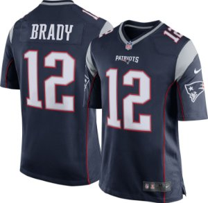 Camisa Nfl Futebol Americano New England Patriots #12 Brady