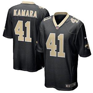 Camisa Nfl Futebol Americano New Orleans Saints #41 Kamara