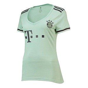 Camisa Bayern de Munique Feminina Away 2019 - Personalização e Frete Grátis