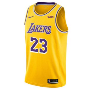 Camisa Nba Los Angeles Lakers 18/19 Basquete #23 LeBron James