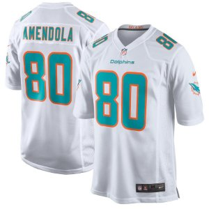 Camisa NFL Miami Dolphins Futebol Americano #80 Danny Amendola