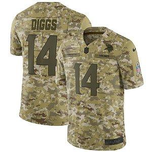 Camisa Minnesota Vikings Nfl Futebol Americano #14 Diggs